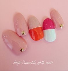 #nail art #nails #pretty&simple