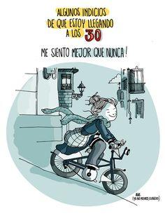agustina guerrero · illustration: diario de una volátil ·indicios de que estoy llegando a los 30·