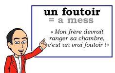Le mot (très familier) du jour :  « un foutoir » [œ̃ futwaʀ]  #FLE #french #WordoftheDayLes Machin (@Les_Machin) | Twitter
