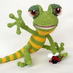 Giorgio the gecko amigurumi pattern by IlDikko