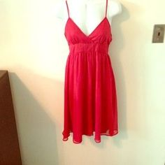 I just added this to my closet on Poshmark: Spaghetti strap red summer dress.. Price: $6 Size: M