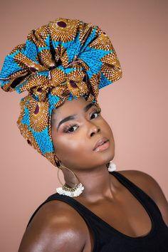 AFRICAN PRINT DINEFA HEADWRAP