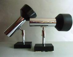 Zwei Strahler *Spot* Design Klassiger -70er Jahre  von MaDütt auf DaWanda.com