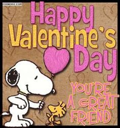 Valentine's Day, You're A Great Friend valentines day vday quotes ., Happy Valentine's Day, You're A Great Friend valentines day vday quotes ., Snoopy Alphabet ~ D Charlie Brown And Snoopy with WoodstockInspirationMotivation Valentines Day Sayings, Happy Valentines Day Friendship, Valentines Quotes Funny, Friends Valentines Day, Valentine Images, Valentines Day Pictures, Valentines Greetings, Valentine Day Cards, Valentine Gifts