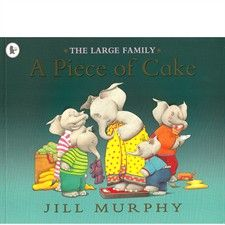 Booktopia has A Piece of Cake : Large Family, Large Family by Jill Murphy. Buy a discounted Paperback of A Piece of Cake : Large Family online from Australia's leading online bookstore. Great Books, My Books, Jill Murphy, Boomerang Books, The Worst Witch, Thing 1, Children's Book Illustration, Book Illustrations, Piece Of Cakes