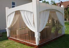 Diy Wooden Gazebo Designs And Decorating Ideas