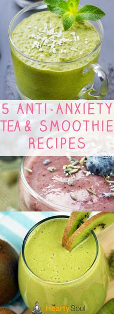 5 Anti-Anxiety Tea and Smoothie Recipes