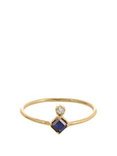 Diamond, sapphire & yellow-gold ring | Loren Stewart | MATCHESFASHION.COM US