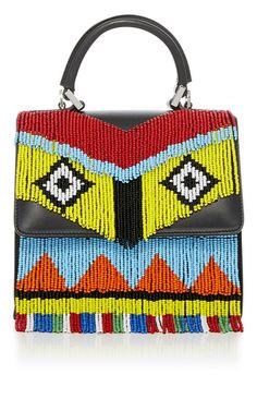 Mini Alex Fringe Handbag by LES PETITS JOUEURS for Preorder on Moda Operandi