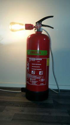 Fire extinguisher lamp (led)