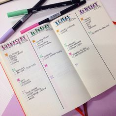 """881 Likes, 16 Comments - Planner Inspiration (@christina77star) on Instagram: """"Trying a vertical layout for my dailies and planning the rest of the week. I quite like it so…"""""""