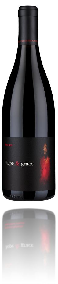 2012 hope & grace Pinot Noir, Santa Lucia Highlands – hope & grace wines - delicious, Gino's favorite