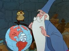 i am pretty sure the owl's name is Archimedes