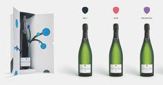 Champagne Castelnau révèle une esthétique de marque pleine daudace