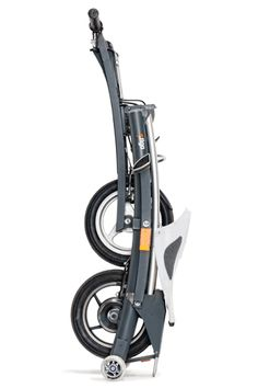 The Stigo bike may considered as a parent of a new class of urban vehicles – that of compact foldable electric scooters. Uummm close, bit big