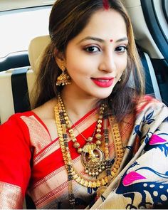 Image may contain: 1 person, closeup Beautiful Girl Indian, Beautiful Girl Image, Beautiful Saree, Beautiful Indian Actress, Gorgeous Women, Beautiful Pictures, Beauty Full Girl, Beauty Women, Marathi Bride