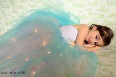 Светящийся наряд для маленькой принцессы!