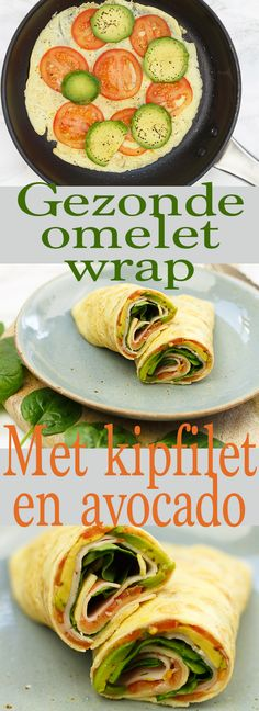 Omelet wrap met kipfilet en avocado – Food And Drink Health Snacks, Health And Nutrition, Health Tips, Nutrition Tips, Avocado Toast, Avocado Health, Healthy Lunches For Work, Food Film, Avocado