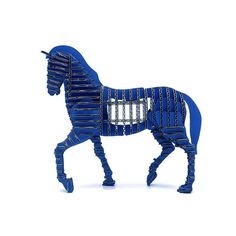 Paper Maker 3-D Puzzles for Kids Horse Model Children's Jigsaw - Educational Toys Educational Learning Build 3D Animal Puzzles