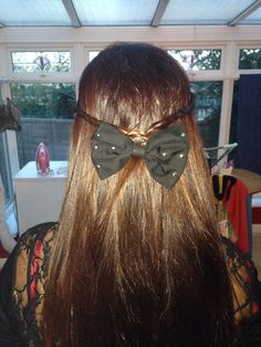 Cute plaits with a bow