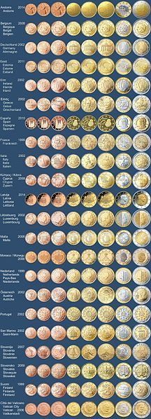 2002 - Euro coins and notes went into circulation in twelve European nations.