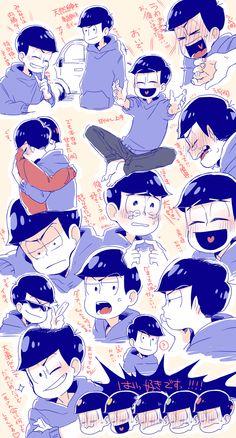 Osomatsu-san- Karamatsu #Anime「♡」