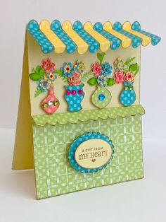card by Teresita Arvelo Colon using CTMH Dotty For You paper