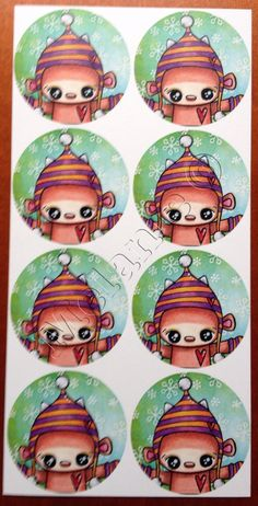Doepa winter stickers