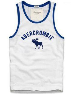 Cheap Abercrombie & Fitch Cotton Vest Mens AFC1074  http://abercrombie-sale.net/
