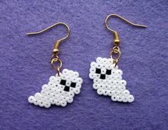 Hamma bead earrings