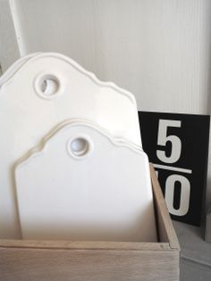 Planche en porcelaine, €17,90