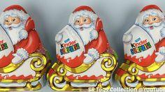 Santa Claus Kinder Chocolate Surprise Eggs Christmas Edition