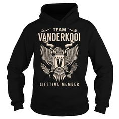 Team VANDERKOOI Lifetime Member - Last Name, Surname T-Shirt