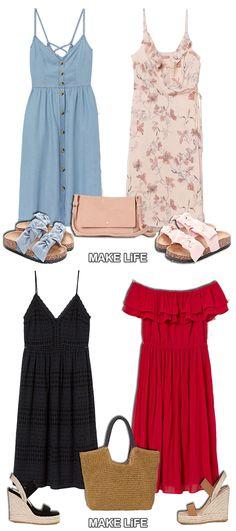8 Φορέματα H&M που ξεχωρίσαμε για το καλοκαίρι #fashion #h&m #dresses #summer
