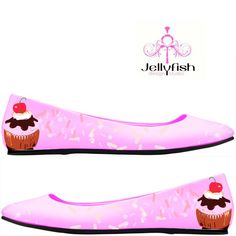 Cupcake Flats ... totally cute! i love cupcake stuff!