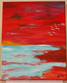 Sea view in acryl