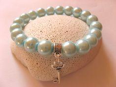 bransoletka z koralików szklanych w IzaHD na DaWanda.com