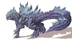 Supercharged Godzilla Redesign by TGping.deviantart.com on @deviantART
