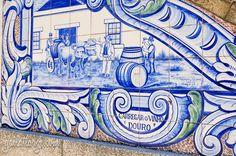 Peso da Régua, Portugal Azulejos Along The Douro Railway Posted on August 2014 by Gail Aguiar (Gail at Large)