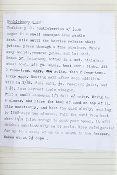 Huckleberry Curd Recipe   QUITOKEETO