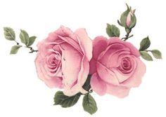 Fluffy-SOFT-Ροζ-άθλιο-τριαντάφυλλα-νεροτσουλήθρα-Αυτοκόλλητα-Έπιπλα-Μέγεθος