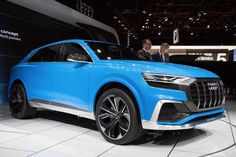 Awesome Audi 2017: The Audi Q8 Concept is powered by a clever hybrid drivetrain...  Volkswagen Audi Group  Concepts Check more at http://carsboard.pro/2017/2017/03/22/audi-2017-the-audi-q8-concept-is-powered-by-a-clever-hybrid-drivetrain-volkswagen-audi-group-concepts/