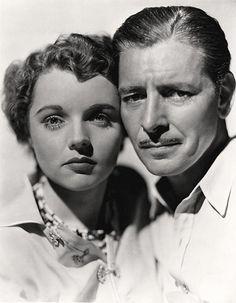 Jane Wyatt and Ronald Colman by Vintage-Stars, via Flickr