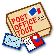 """Post Office Tour Fun Patch $0.74 - Tie into Girl Scout Daisy Petal """"Respect Authority"""""""