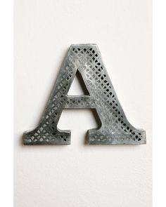 These acid etched letters are a fantastic way to personalize any area. Buy them here: http://www.bhg.com/shop/urban-outfitters-exclusives-acid-etched-letter-p501a9bcf82a797dc894db3f0.html