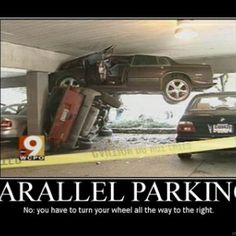 Classic The Absolute Worst Parallel Parking Job Youve EverSeen -