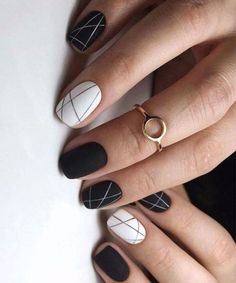 These nail designs are as easy as they are adorable #beautynails