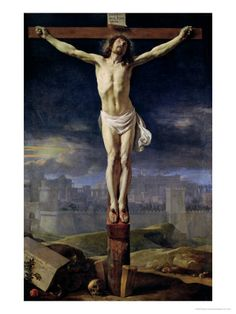 Christ on the Cross Before 1650 by Philippe De Champaigne