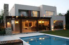 Busca imágenes de diseños de Casas estilo moderno de Rocha & Figueroa Bunge arquitectos. Encuentra las mejores fotos para inspirarte y crear el hogar de tus sueños.