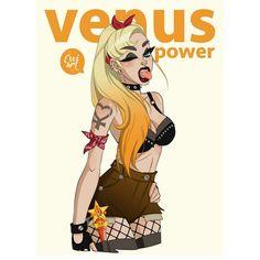 EVVIART — - Venus Power -  #sailormoon #sailorvenus...